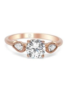 6 Engagement Ring Styles With A Hint Of Rose Gold