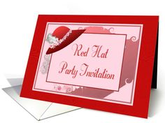 http://www.greetingcarduniverse.com/invitations/party-by-theme/ladies-in-red-hats/red-hat-party-invitation-feather-blossom-red-hat-528491?gcu=42124323685
