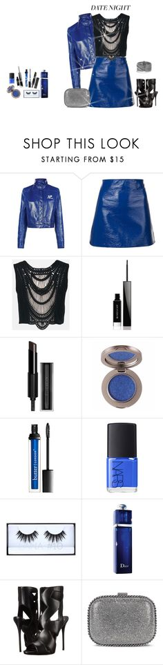 """outfit 5811"" by natalyag ❤ liked on Polyvore featuring Courrèges, Sans Souci, Givenchy, NARS Cosmetics, Huda Beauty, Christian Dior, Giuseppe Zanotti, STELLA McCARTNEY and David Yurman"
