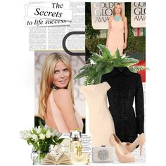 """Heidi Klum #1"" by yamyiy on Polyvore"