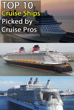 Cruise Ships: 10 Favorite Cruise Ships picked by Travel Professionals.  Planning a wedding at sea, check out these top 10 Cruise Ships.
