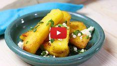 Tartă tatin cu ananas- rețeta video | Bucatar Maniac Baked Potato, Potato Salad, Potatoes, Baking, Vegetables, Ethnic Recipes, Blog, Pie, Potato