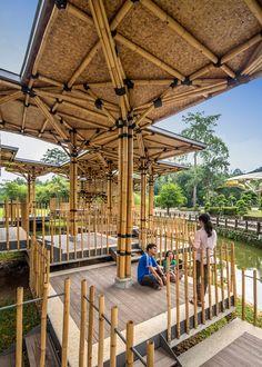 Bamboo Playhouse by Eleena Jamil Architect