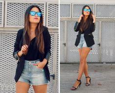 New black blazer- więcej na stylizacje.pl
