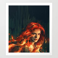 War Art Print by Alice X. Zhang - $15.00