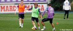Luka Modric se reincorporo al grupo