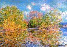 Claude Monet The Seine near Giverny 1888