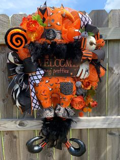 Excited to share this item from my #etsy shop: Halloween Witch Wreath, Designer Fall Halloween Wreath, Holidaze Decor Design, Mesh Halloween Wreath, Luxury Holiday Decor, Pumpkin, Witch  #farrisilk #wreathsttachment #halloweenwreath #halloweendecor #witchwreath #customdesign #holidazedecor #google #instagood #instalike #pumpkins #falldecor #homedecor #holidaydecor #holidaydesigner #wreaths #etsy