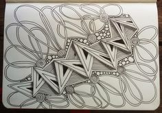 July 2014 Juillac, played with ING Pen Doodles, Art Nouveau Pattern, Doodle Art Designs, Doodle Art Drawing, Tangle Doodle, Doodle Lettering, Doodle Inspiration, Zen Art, Zentangle Patterns