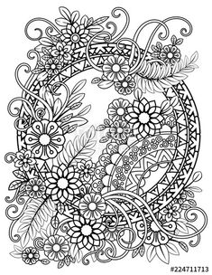 Bing – coloring pages - Malvorlagen Mandala Fish Coloring Page, Flower Coloring Pages, Pattern Coloring Pages, Mandala Coloring Pages, Cute Coloring Pages, Printable Adult Coloring Pages, Coloring Sheets, Coloring Books, Copics