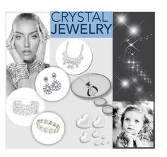 """crystal jewelry"" by veronica7777 ❤ liked on Polyvore featuring Givenchy, Sibling and Valentino"