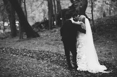 A Backyard Barn Wedding in the Woods: Lauren + Bud