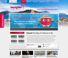 Website Design for Imagine Tours and Travel by BIGEYE