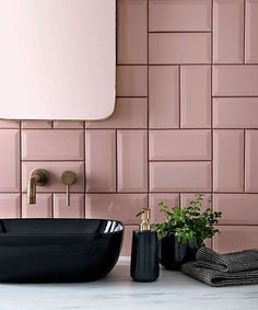 Metro Tiles Bathroom, Modern Bathroom, Small Bathroom, Bathroom Tile Colors, Colourful Bathroom Tiles, Metro Tiles Kitchen, Contemporary Kitchen Tiles, Feminine Bathroom, Best Bathroom Tiles