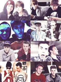 The relationship between Justin and Ryan! :)