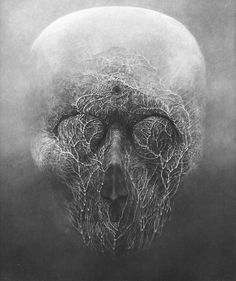 Mixed Digital Art Inspiration – From up North Arte Horror, Horror Art, Dark Fantasy Art, Dark Art, Macabre Art, Fantastic Art, Surreal Art, Skull Art, Creepy