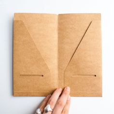 The 020 refill is a convenient file folder that can be inserted into your Traveler's Journal to receipts, tickets, postcards, and other ephemera. Part of the Traveler's Notebook series, this is an acc