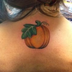 Image result for Pumpkin Tattoo small