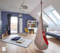 Realizacja domu na Mazurach - Średni pokój dziecka dla chłopca dla nastolatka, styl skandynawski - zdjęcie od Vprojekt