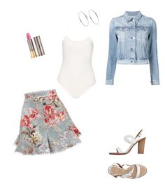 """Untitled #967"" by eshkapeesh on Polyvore featuring Zimmermann, TIBI, 3x1, Giorgio Armani, Urban Decay and Michael Kors"