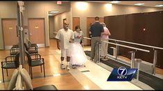 Paralyzed bride surprises wedding guests                           <3