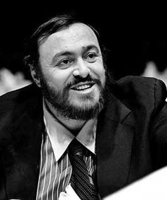 Luciano Pavarotti (1935 - 2007). was an Italian operatic tenor who also crossed over into popular music, eventually becoming one of the most commercially successful tenors of all time.   www.afternote.com