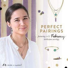 #February birthstone pairing- I LOVE the Medina 3 in ONE necklace just $42 with the $22 amethyst stud earrings!  Shop perfect Fall sets on my boutique today!