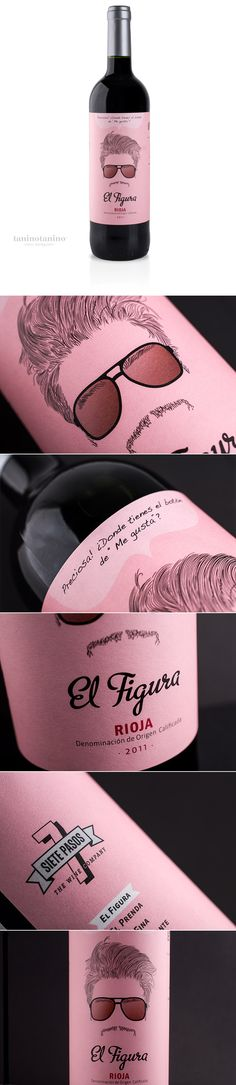 EL FIGURA 7 PASOS - TANINOTANINO VINOS INTELIGENTES Photo by #winebrandingdesign