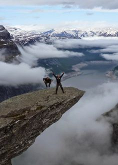 """Trolltunga"" Sharp Top Hill - Norway -"