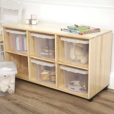 6-Hole Pine Storage Unit | JoJo Maman Bebe