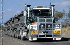 Road Train (with five trailers!!)