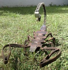 Yard Art Ideas From Junk | yard art ideas from junk | Miller - Welding Projects - Idea Gallery ...