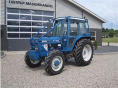 tracteur agricole Ford 6610 Med skovinddækning