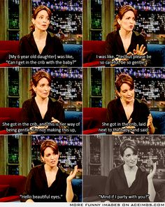 Tina Fey's story of her daughter