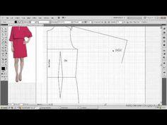 Model uygulamalı elbise kalıbı 7 / The model applied dress pattern 7 Diy Clothing, Clothing Patterns, Dress Patterns, Sewing Patterns, How To Apply, How To Make, Cute Designs, Pattern Making, Pattern Fashion