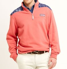 This Blueprint Print Shep Shirt from Vineyard Vines is Preppy and stylish as could be.