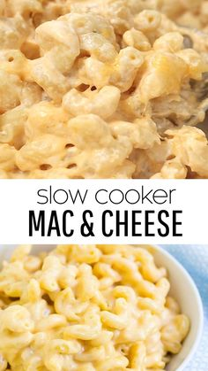 Creamy Slow Cooker Mac & Cheese