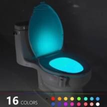 The GlowBowl will transform ANY toilet into a nightlight. No more missing your target or stumbling around in the dark in your bathroom – The GlowBowl is motion activated, light-sensitive and solves al (Diy Bathroom Toilet)