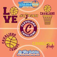 Cleveland Cavaliers SVG, archivo de Cavaliers, monograma de Cleveland Cavaliers, descarga inmediata de baloncesto, CG006