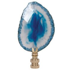 Moondance Blue Finial now featured on Fab.