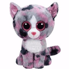 Ty Beanie Boos 6  - LINDI the Pink Cat Soft Toy Boo New BNWT