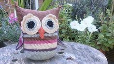Ravelry: shabby chic little owl doorstop pattern by Sally Titterton