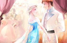 hans and elsa | Elsa and Hans - Frozen Fan Art (38475815) - Fanpop