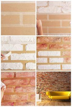 papel de parede tijolo aparente - Pesquisa Google