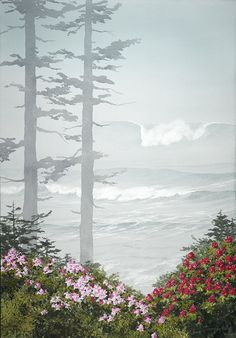 """Jeffrey Hull, """"Rhododendrons Gone Wild,"""" ca. 2014."""