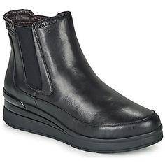 Μπότες Stonefly CREAM 20 ΣΤΕΛΕΧΟΣ: Δέρμα & ΕΠΕΝΔΥΣΗ: Ύφασμα & ΕΣ. ΣΟΛΑ: Δέρμα & ΕΞ. ΣΟΛΑ: Συνθετικό Color Negra, Chelsea Boots, Fashion Accessories, Black Leather, Clothes For Women, My Style, Shopping, Shoes, Products
