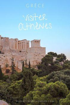 Un voyage en Grèce? Si vous passez par Athènes, voici quelques conseils pour visiter la capitale grecque. Dans cet article, retrouvez les infos sur le quartier de Plaka, l'Acropole, les  musées, les plus beaux points de vue, mais aussi où dormir, où manger... Prague, Voyage Europe, Belle Villa, Blog Voyage, City Break, Athens, Greece, Points, Voici