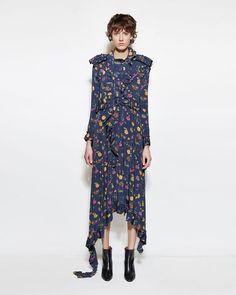 Vetements | Flower Print Dress