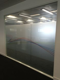 Here is an installation of manifestation 1200mm deep with digitally printed design onto film.
