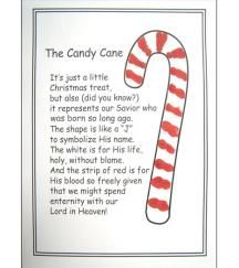 Legend of the Candy Cane Printable Candy canes Free printable